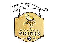 Minnestoa Vikings Vintage Tavern Sign