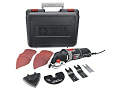 Oscillating Multi-Tool Kit with 31 Accessories