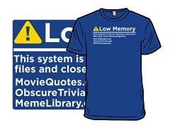 Error Low Memory