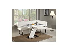 Modern Design Dining Table With Nook