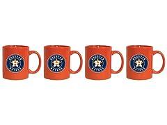 MLB Coffee Mug 4-Pack