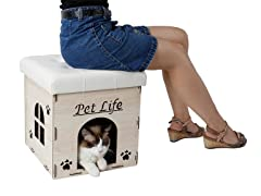 Cat House Furniture Bench
