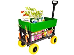 Multi-Purpose Garden and Dump Cart