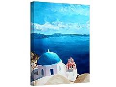 Oia Santorini w/Blue Sky (3 Sizes)