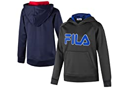 FILA Smash Hoodies (Youth Sizes S & M)