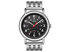 Timex Weekender, Black w/ Steel