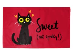 Black Cats Are The Sweetest 3' x 2' Rug