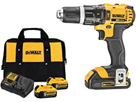 DeWALT Hammer Drill/Driver or 2-Battery Starter Kit