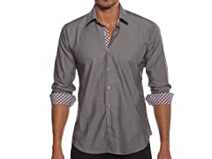 Jared Lang Dress Shirt, Charcoal