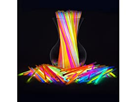PartySticks Glow Sticks, 300-Count