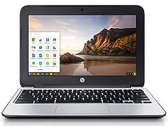 "HP 11"" 11-G3 Dual-Core 16GB Chromebooks"