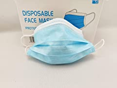 3-Ply Disposable Face Mask (Pack of 100)