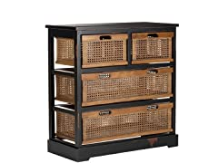Jackson 4 Drawer Unit - Black