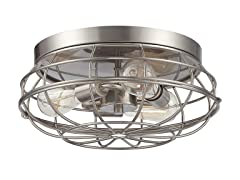"Scout 15"" Flush Mount Light"