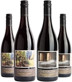 4-Pack Chehalem Oregon Gamay Noir Mixed Vintage