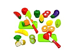 Fruit and Vegetables Play Kitchen Food