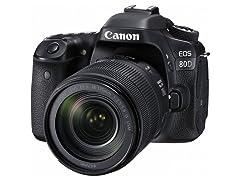 Canon EOS 80D DSLR w/ EF-S 18-135mm Lens