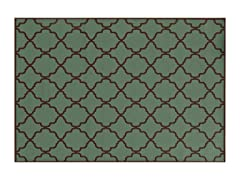 Amalfi Indoor/Outdoor - Green (4 Sizes)