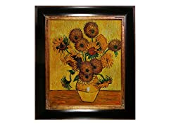 Van Gogh - Vase w/Fifteen Sunflowers
