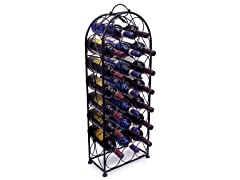 Sorbus Bordeaux Chateau Wine Rack