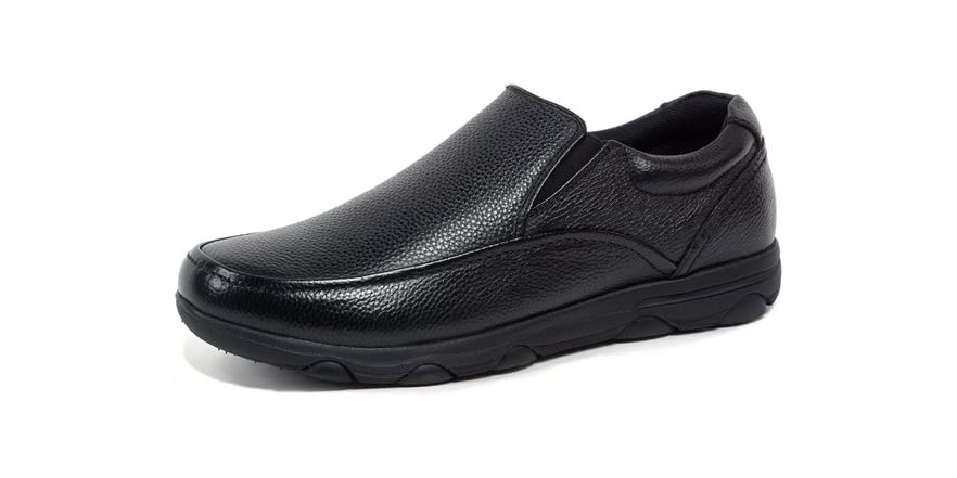 arbete leather slip on work slip resistant