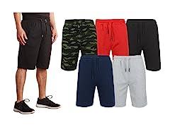 Mens 3PK Tech Fleece Shorts