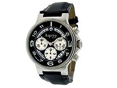 No 8 Round Chronograph Calendar Watch