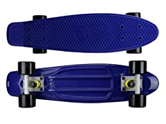 Navy Deck with Black Wheels