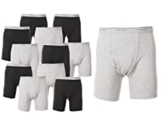 Men's Boxer Briefs 12 Pack-Small