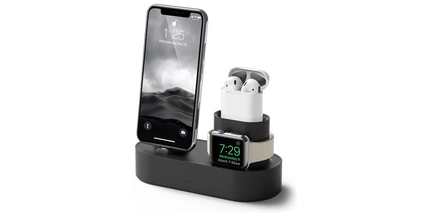 Roca 3 in 1 iPhone Charging Hub- Black, Blue or White   WOOT