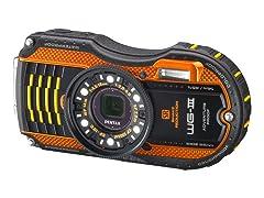 Pentax WG3 16MP Waterproof Digital Camera