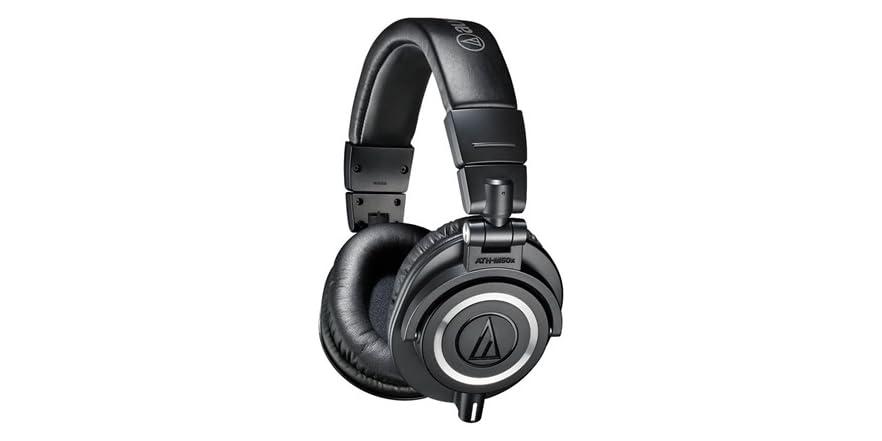 audio technica m50x studio monitor headphone. Black Bedroom Furniture Sets. Home Design Ideas