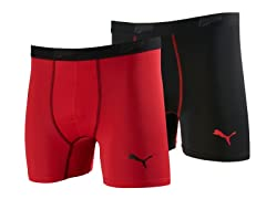 Puma Tech Trunk 2pk - Red/Black (6-10)