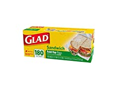 Glad Fold Top Sandwich Bags