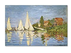 Claude Monet Regatta at Argenteuil (2 Sizes)