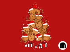 """Meowy Catmas Tree"" Crewneck Sweatshirt"