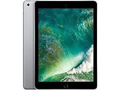 "Apple 9.7"" iPad 5 (2017), 128GB, Gray"