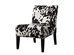 Black Cow Lounge Chair