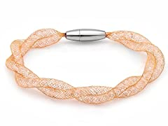 18kt Rose Gold Plated Intertwined