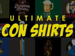 Wingfeather: Ultimate Con Shirts