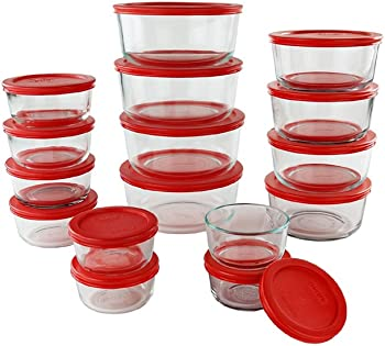 Pyrex 32-Piece Simply Store Glass Set