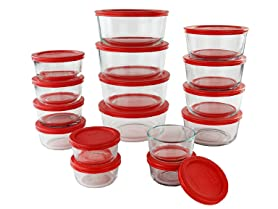 Pyrex 32-Pc Glass Simply Store Set