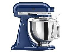 KitchenAid 5-Quart Tilt-Head Stand Mixer, Blue Willow