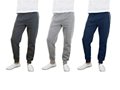 Fleece Jogger Pants 3-Pack