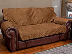Loveseat Full-coverage Protector - Cocoa