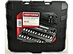 Craftsman 30-Piece Torx Bit Socket Set