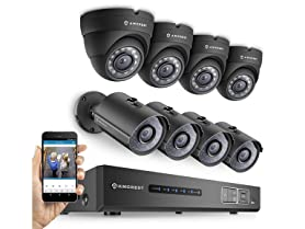 Amcrest 720p 8 Channel DVR Security Systems