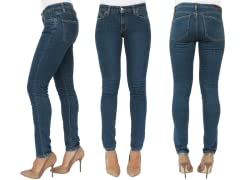 M2F Indie Skinny Vintage Denim, Dark Blue