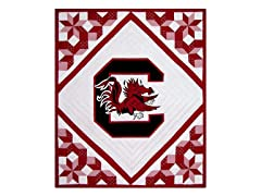 South Carolina Quilted Throw B
