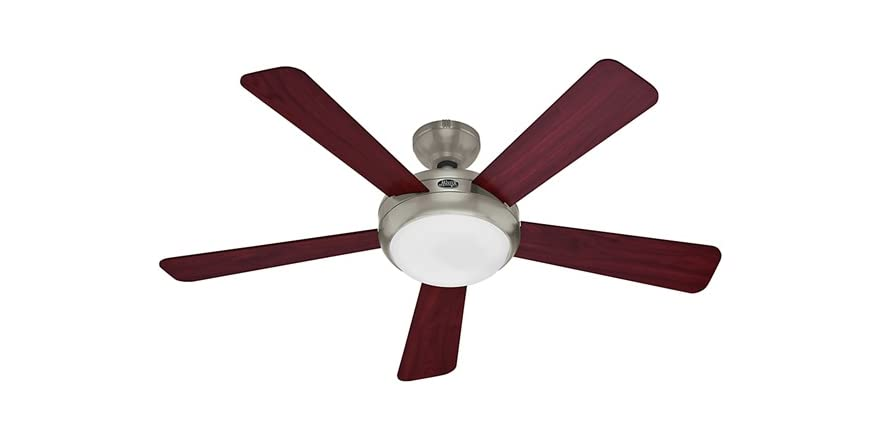 52 Inch Energy Star Ceiling Fan Nickel